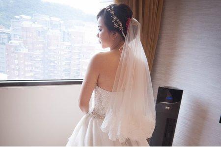 Bride娟娟 白紗造型