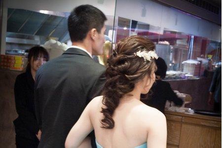 Bride娟娟 婚宴造型