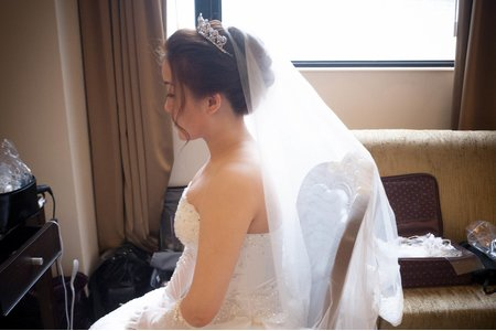 Bride小慈 白紗迎娶造型