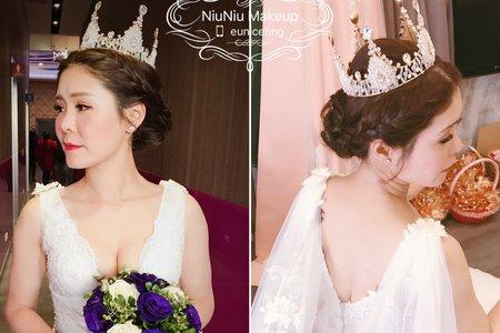 新娘迎娶三套造型