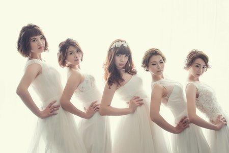 ▊台中婚紗/五個女孩的閨蜜照/ ▊