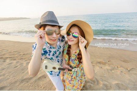 【婚紗攝影】海邊風格
