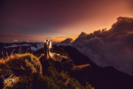 【婚紗攝影】- 山景