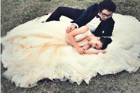 海外新人 婚紗照
