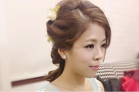 韋陵訂婚彩妝造型紀錄