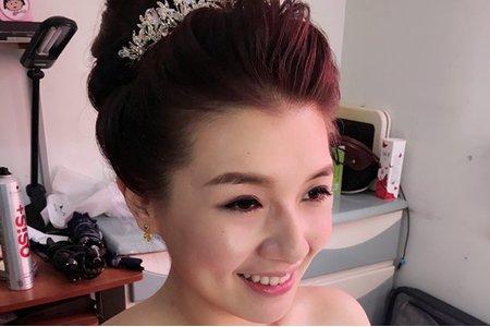 長榮空姐家綺結婚彩妝造型紀錄