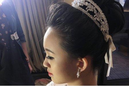 郁庭結婚彩妝造型紀錄