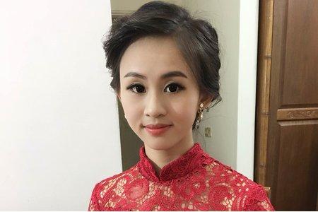 新竹新娘秘書陳泊璇Rita/郁庭訂婚彩妝造型紀錄