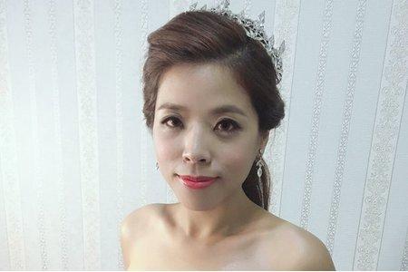 韋陵結婚彩妝造型紀錄