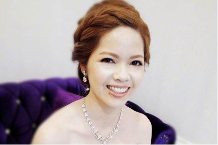 新竹新娘秘書陳泊璇Rita/瓊欣結婚彩妝造型紀錄