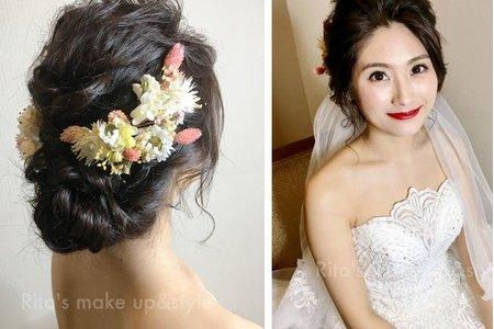 新娘秘書訂結婚同天妝髮服務