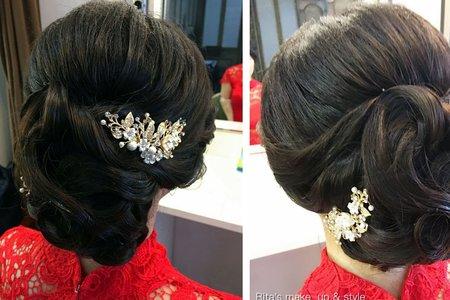 新娘單妝髮到府服務