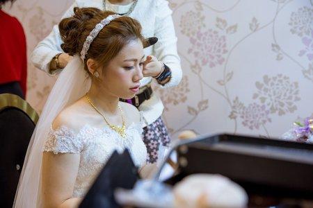 新娘*玉萍 訂+結婚宴造型