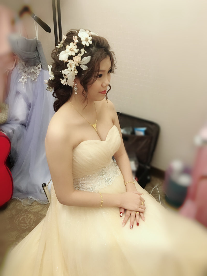 kiki 新娘秘書*整體造型作品