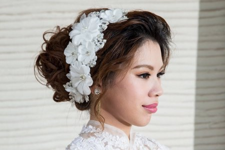 新娘整體造型外拍