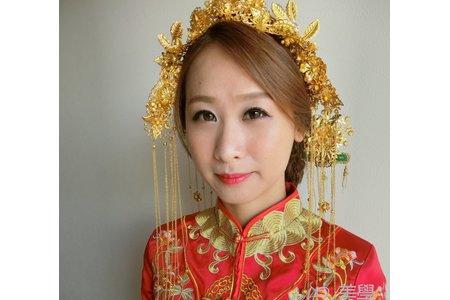 U's小姐婚禮美學-中式旗袍'龍鳳掛