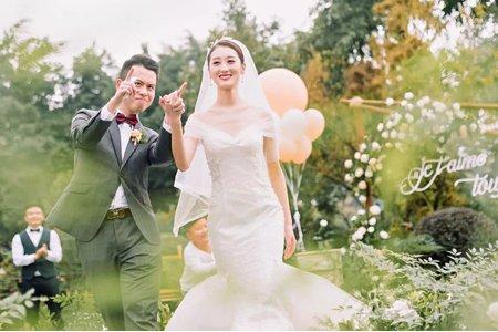 U小姐婚禮美學戶外婚禮