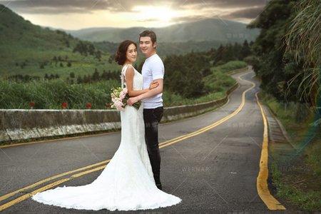 婚紗|婚紗照|婚紗攝影/台灣之美-520公路