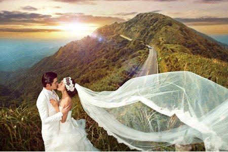 婚紗|婚紗攝影/台灣之美-山嵐戀曲