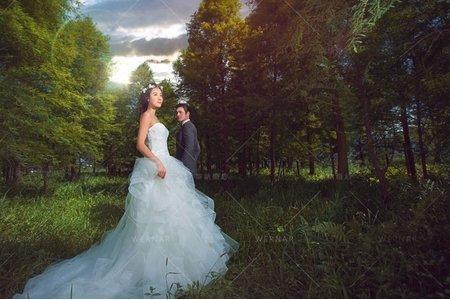 婚紗|婚紗攝影/台灣之美-綠映覓境