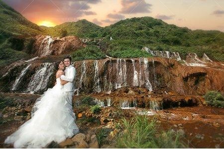 婚紗|婚紗攝影/台灣之美-璨金仙境