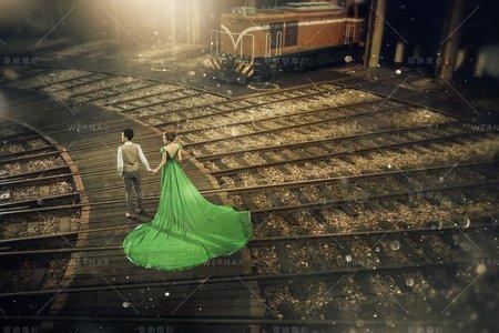 婚紗|婚紗攝影/台灣之美-小鎮風華