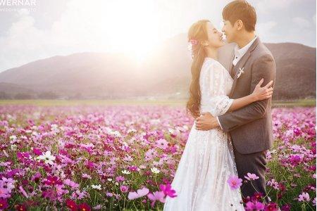 婚紗|婚紗照|婚紗攝影/遇見春天預見愛