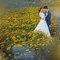 婚紗外拍景點,婚紗攝影,婚紗照,台中華納婚紗推薦,萬壽菊花海