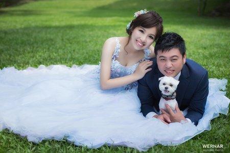 華納婚紗 客片分享 必逸 ❤ 瑋婷