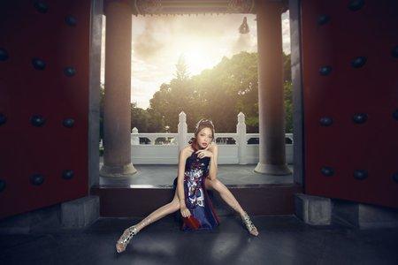 絕美中式旗袍
