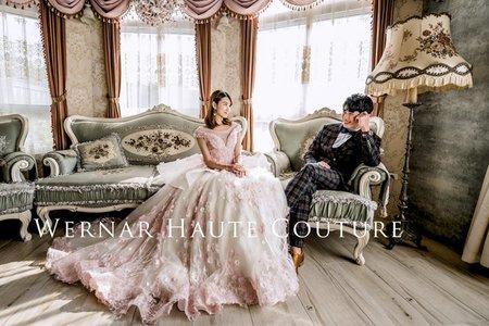 歐式婚紗照|華麗、城堡、端莊、典雅