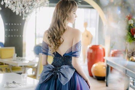 雜誌曝光禮服|台中婚宴會館與戶外婚禮