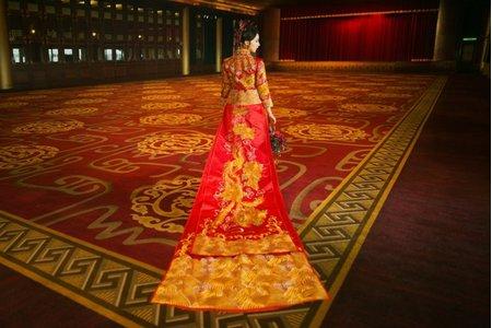 中式禮服款式合輯|中式婚紗 旗袍婚紗 龍鳳褂