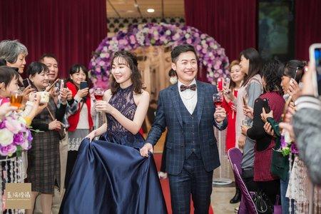 建宏+芷婕 婚禮紀錄 (新尚豪宴會館 )