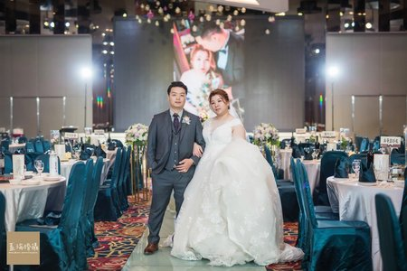 士傑+芝榕 婚禮紀錄 (大中華國際美食館)