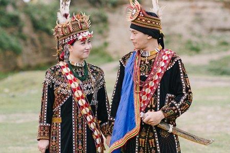 台北婚紗攝影 原住民服裝