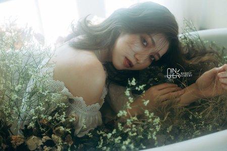 GINGER靖妝-新娘單妝髮造型