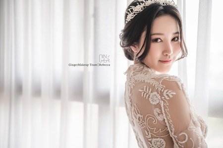 GINGER靖妝-新秘訂結婚宴造型方案