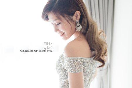GINGER靖妝-新娘秘書全日造型方案