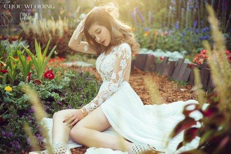 GINGER靖妝-海外自助婚紗整體造型
