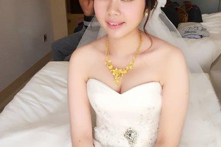 妍伶結婚造型_素雅、韓風、甜美