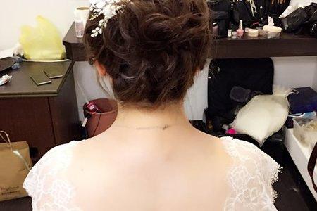典雅、時尚、甜美_小藍結婚造型