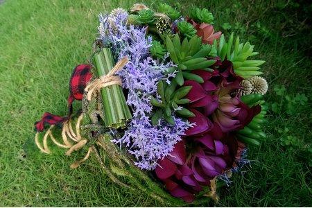 森林系新娘捧花