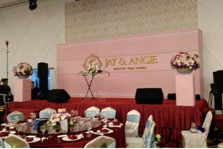 彰化婚宴會館-婚禮佈置午場115桌