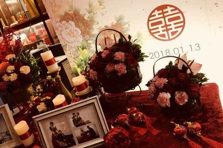 中國風紅色系風格
