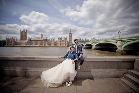愛情宣言婚紗工作室~倫敦婚紗-客照分享