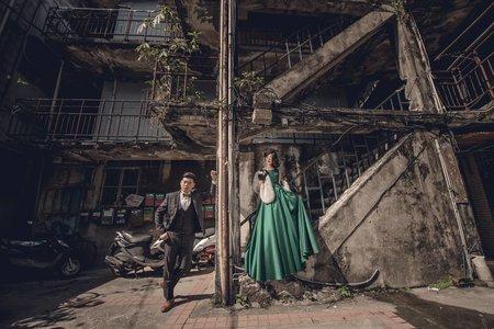 愛情宣言婚紗工作室~街拍復古風~客照分享
