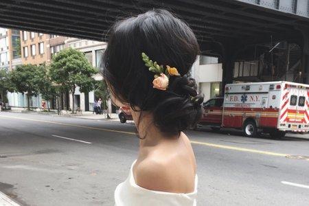 紐約公證結婚 --- Verna