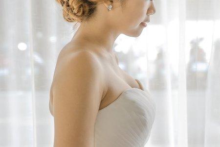 Bride胡 線條盤髮