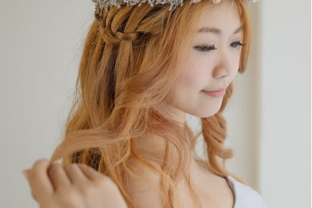 Bride胡/甜美花圈